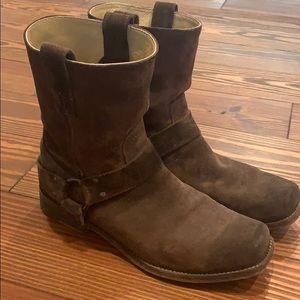 Men's Suede Frye Boots